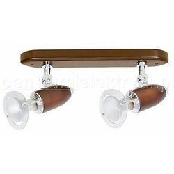 NOWODVORSKI MARS WENGE II OPRAWA PUNKTOWA 2X40W 230V E14 żarówki LED gratis!