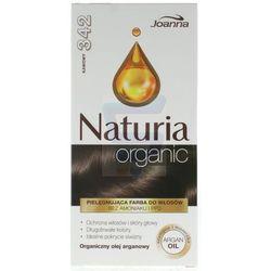 Joanna Naturia organic farba do włosów bez amoniaku Kawowy nr 342