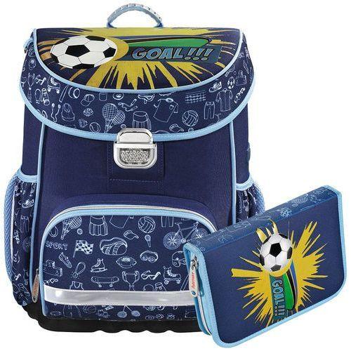 0fe0940d7fcbb Hama zestaw szkolny tornister + piórnik z wyposażeniem   Soccer - Soccer