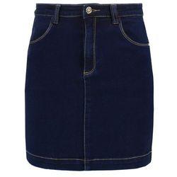 Missguided Spódnica jeansowa indigo
