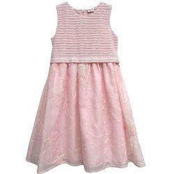2137bdb8 Topo sukienka dziewczęca z haftem 146 różowa - BEZPŁATNY ODBIÓR: WROCŁAW!