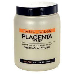 Stapiz Basic Salon Placenta Mask 1000ml W Maska do włosów