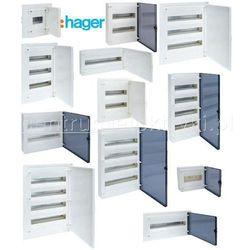 HAGER GOLF IP41 ROZDZIELNICA P/T DRZWI PRZEZROCZYSTE 12MOD.