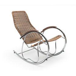 Fotel bujany z Technorattanu HALMAR BEN