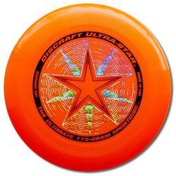 Disc Dysk Discraft ULTRA-STAR 175g. Pomarańczowy Ultimate Frisbee