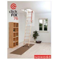 Schody strychowe OKPOL Click FIX 76 120x70