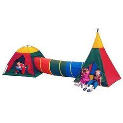 Fantazja zestaw namiotów dla dzieci wielokolorowy