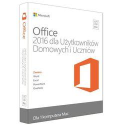 Microsoft Office 2016 MAC Home & Student FamilyPack (PKC) PL
