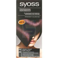Syoss Farba do włosów 3-3 Ciemny Fiolet