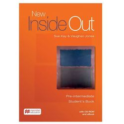 New Inside Out Pre-intermediate: Student´s Book with eBook and CD-Rom Pack Kay, Sue