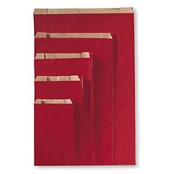 Czerwona torebka papierowa na prezent 250szt.180 330 x 60