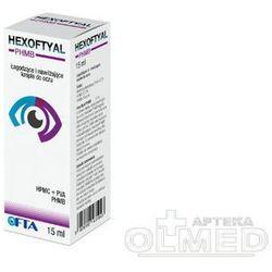 Hexoftyal krople do oczu 15 ml