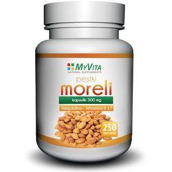 MYVITA Pestki Moreli 250 kaps./300mg