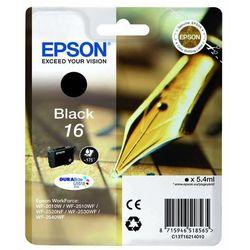 Epson oryginalny ink C13T16214010, T162140, black, 5.4ml, Epson WorkForce WF-2540WF, WF-2530WF, WF-2520NF, WF-2010