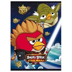 Zeszyt szkolny Unipap Angry Birds Star Wars II A5/32k. 90381 kratka