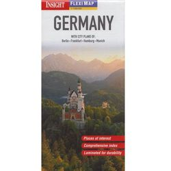 Niemcy mapa 1:1 000 000 Insight Guides (opr. miękka)