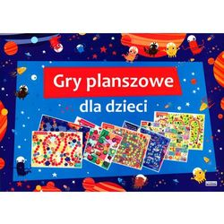 Gry planszowe dla dzieci + zakładka do książki GRATIS (opr. broszurowa)