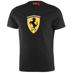 T-shirt dziecięcy Kimi Raikkonen No 7 black Ferrari