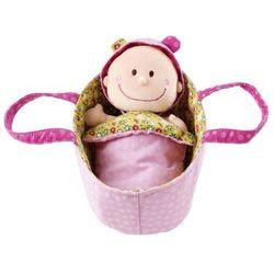 Baby Chloe - Lalka szmacianka w nosidełku