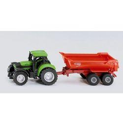 Siku, model Traktor i przyczepa