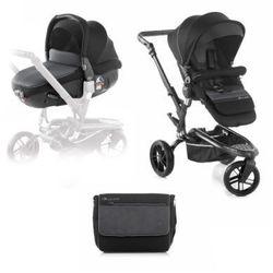 JANE Wózek sportowy Trider trójkołowy z fotelikiem samochodowymMatrix Light 2, Black