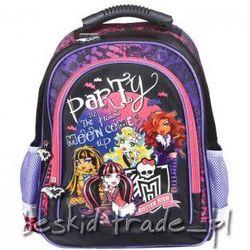Plecak szkolny MONSTER HIGH NOWOŚĆ 5251573 +GRATIS