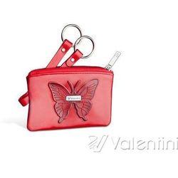 Valentini Red Butterfly Etui Na Klucze
