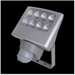 LUXERA 70130 - LED Reflektor z czujnikiem ruchu NEGARA 8xLED/3W