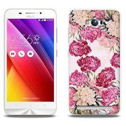 Fantastic Case - Asus Zenfone Max (ZC550KL) - etui na telefon Fantastic Case - piwonie