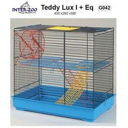 Inter-Zoo klatka dla chomika Teddy Lux I z wyposażeniem