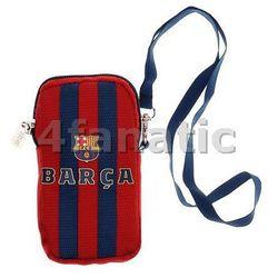 pokrowiec etui i smycz FC Barcelona