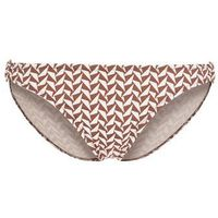 Beach Panties CLEARWATER BEACH Dół od bikini brown/white