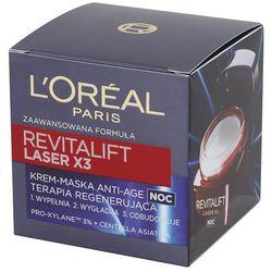 Loreal Paris Revitalift Krem-maska Laser x3 na noc 50 ml