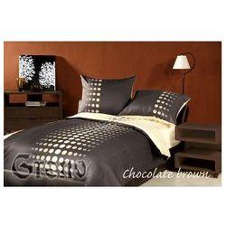 Pościel satynowa XQ 220x200 Chocolate Brown
