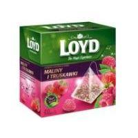 Herbata LOYD TEA Malina i Truskawka 20x2 g