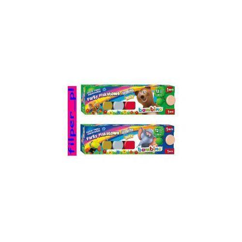 Farby Plakatowe Bambino 12 Kolorow 1 Gratis Porownaj Zanim Kupisz