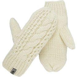 The North Face W Cable Knit Mitt Vintage White S/M - Gwarancja terminu lub 50 zł! - Bezpłatny odbiór osobisty: Wrocław, Warszawa, Katowice, Kraków