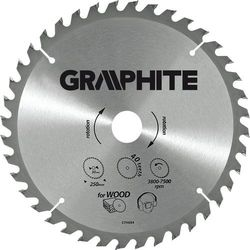 Tarcza do cięcia GRAPHITE 55H608 400 x 30 mm do pilarki widiowa + DARMOWY TRANSPORT!