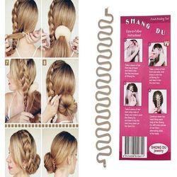 A Hair Braider Twister Spinka do warkocza francuskiego Beżowa