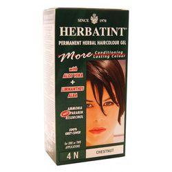 Herbatint - NATURALNA trwała farba do włosów - KASZTAN 4N - 135ml