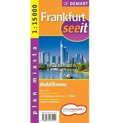 Frankfurt see it plan miasta 1:15 000 Demart (opr. twarda)