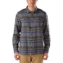 koszule VANS - Birch Stripe Black/Cobalt St (E15)