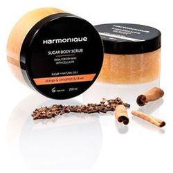 Harmonique Cukrowy peeling do ciała Pomarańcza & Cynamon & Goździk 200 ml