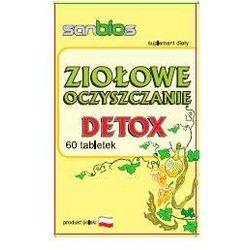 Ziołowe oczyszczanie - DETOX (60 tabletek) - Sanbios