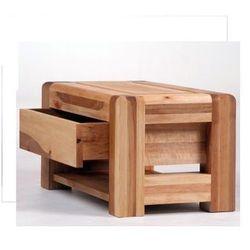 Drewniany stollik nocny design w zgodzie z naturą Country Mazzivo