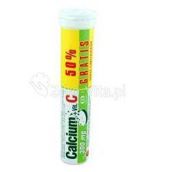 Calcium C 300mg + Vit.C - 20tabletek musujących.POLSKI LEK
