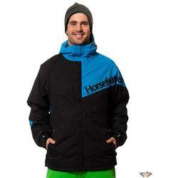 kurtka męskie zimowy -snowboard- Horsefeathers - Athos - BLACK