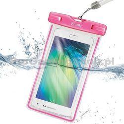 Etui wodoszczelne Celly do HTC Desire 600, różowy