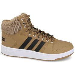 Buty adidas Hoops 2.0 Mid B44620 BRĄZOWY