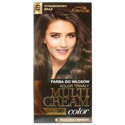 Joanna Multi Cream Color Farba do włosów Cynamonowy Brąz nr 40